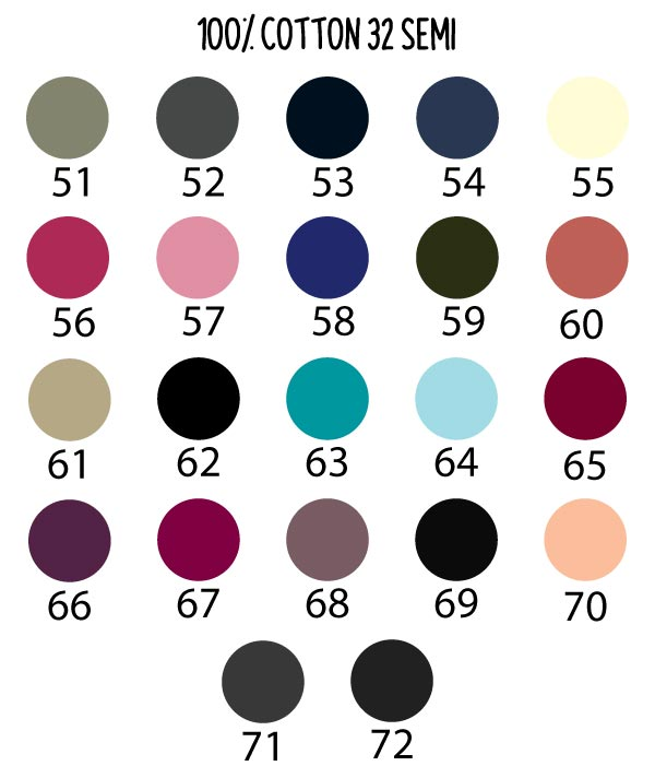 t-shirt-thailand-color-chart-100c-32-semi-p3 bis